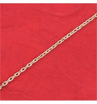 chaine forçat plaqué-or