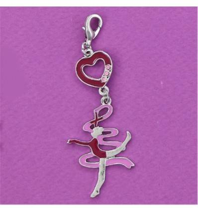 charm's gymnaste rose collection FLUANCE