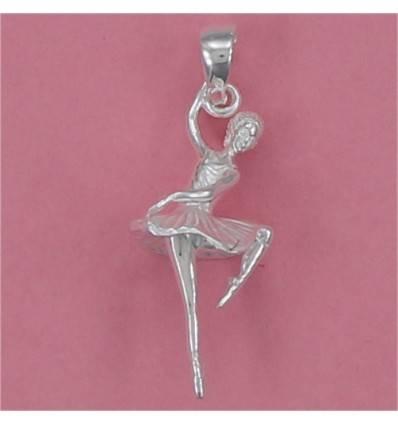 pendentif danseuse en équilibre