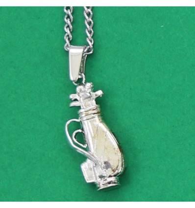 collier fantaisie sac de golf