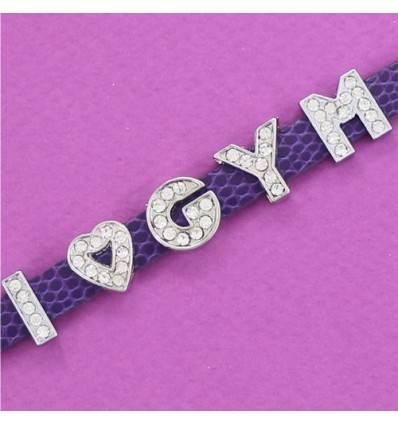 bracelet I love GYM