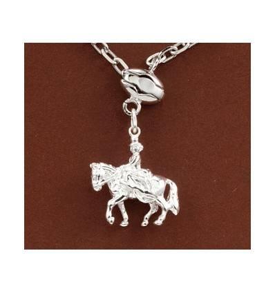 porte-clefs amazone équitation cheval