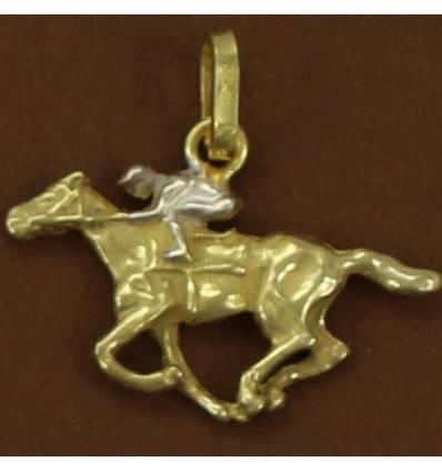 pendentif cheval au galop
