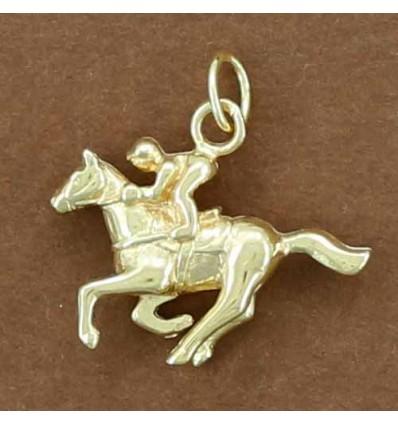 pendentif cheval galopeur