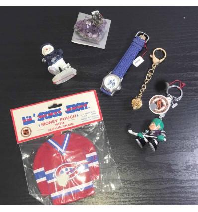 Lot de cadeaux hockey gardien sur glace 6 articles