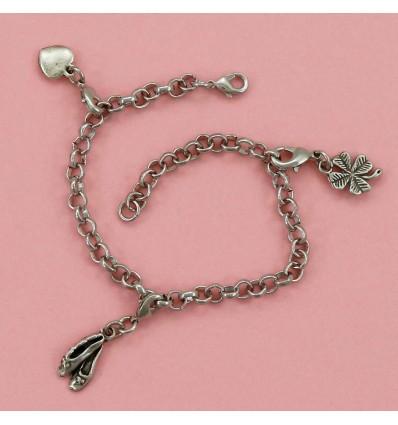 bracelet chausson de danse