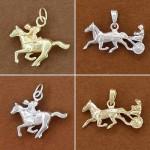 Bijoux cheval courses: trot ou galop