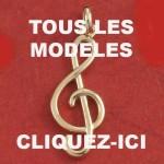 Bijoux musique bijoux : notes de musique