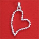 Bijoux coeurs, pendentifs coeur