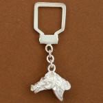 Porte-clefs cheval équitation